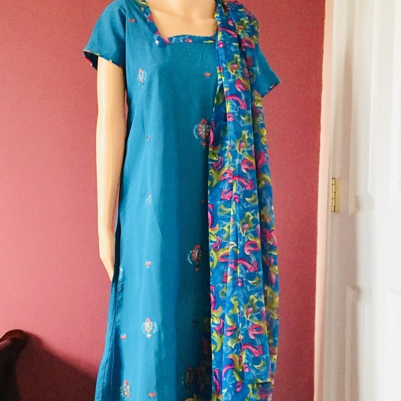 Other - 3 Pc Indian Churidar / Salwar Kameez